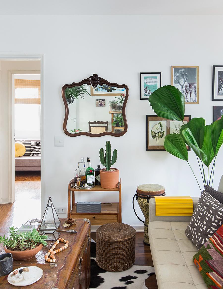 Plantas no apartamento - Flores.