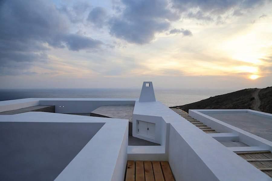 Casas gêmeas de Syros em Atenas.