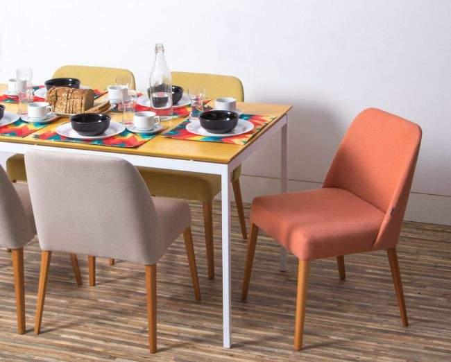 Cadeira laranja é uma das cores tendência da primavera