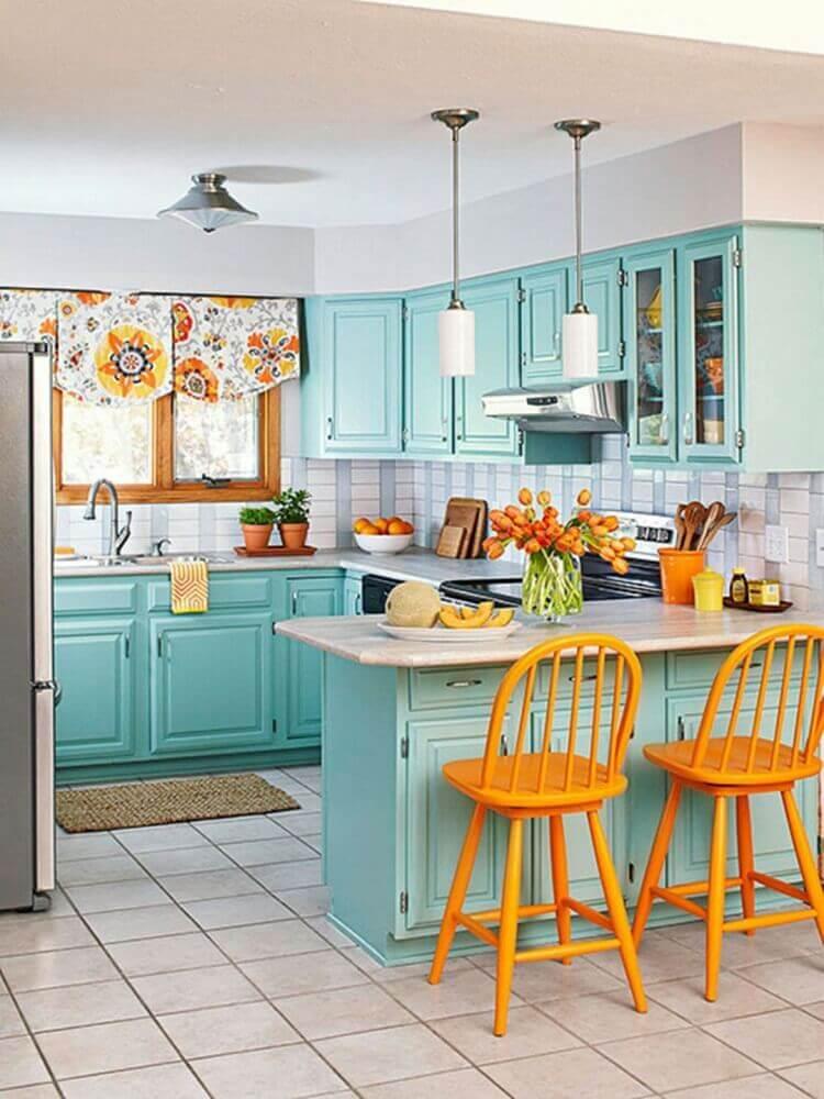 Casa colorida.