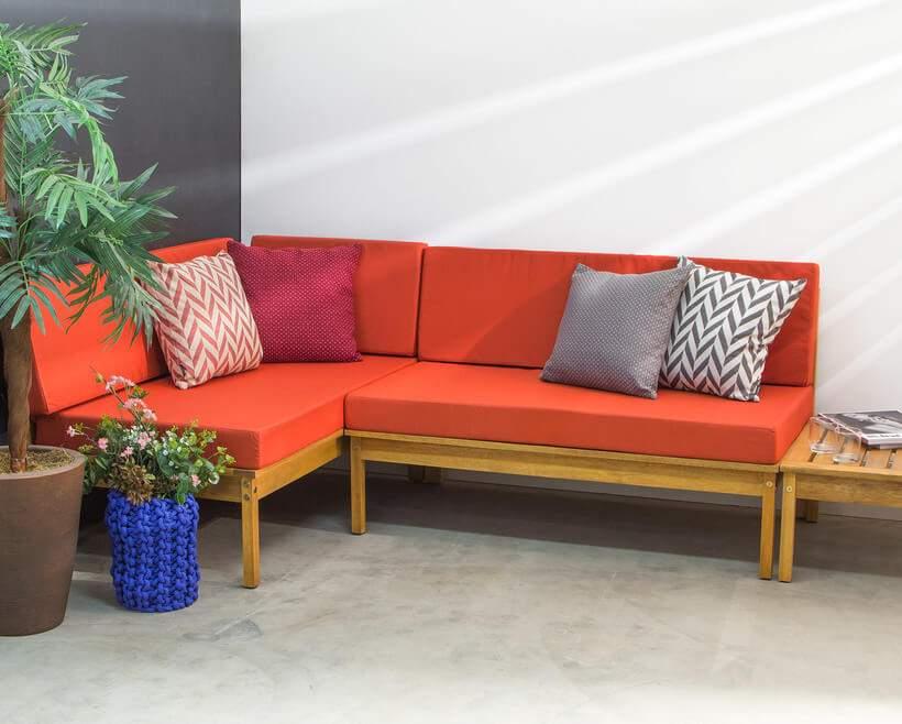 sofá para quem gosta de ousar.