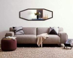 A Oppa prima por oferecer sofás de qualidade superior, como o belo Sofá Pilotis.