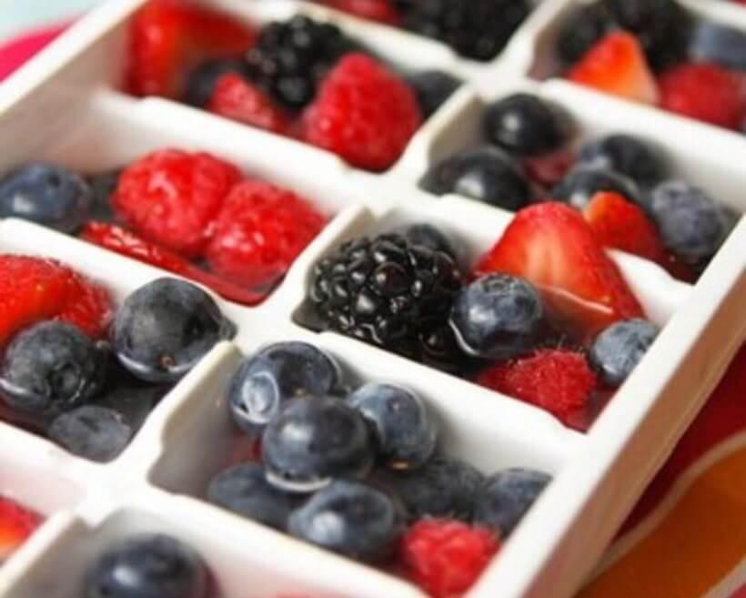 Forminhas de frutas vermelhas? Tem! Foto: Musely.