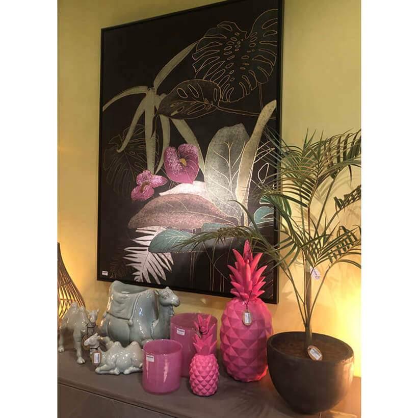 Enfeites com formas de animais e frutas tropicais foram tendência absoluta na Maison & Objet 2019. Foto: Viví Kolér.