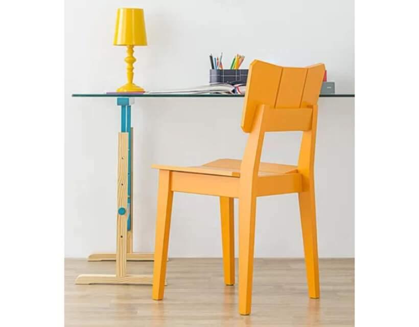 Que tal adicionar aquela dose de alegria ao escritório com a Cadeira Uma laranja (https://www.oppa.com.br/produto/cadeira-uma-laranja)? Foto: Oppa.