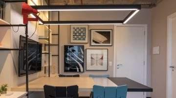 collab de arquitetura: studio matriz. mesa de reuniao com cadeiras Oppa