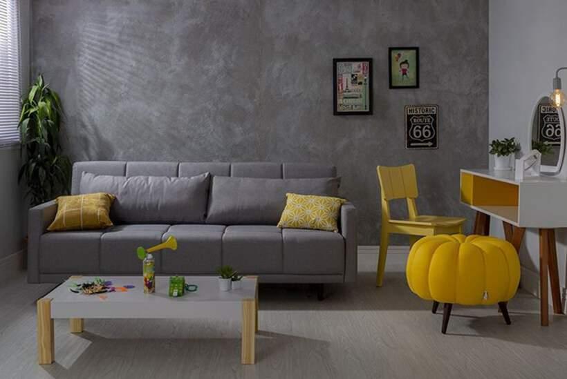 Sala pequena #2 – Decoração moderna e funcional