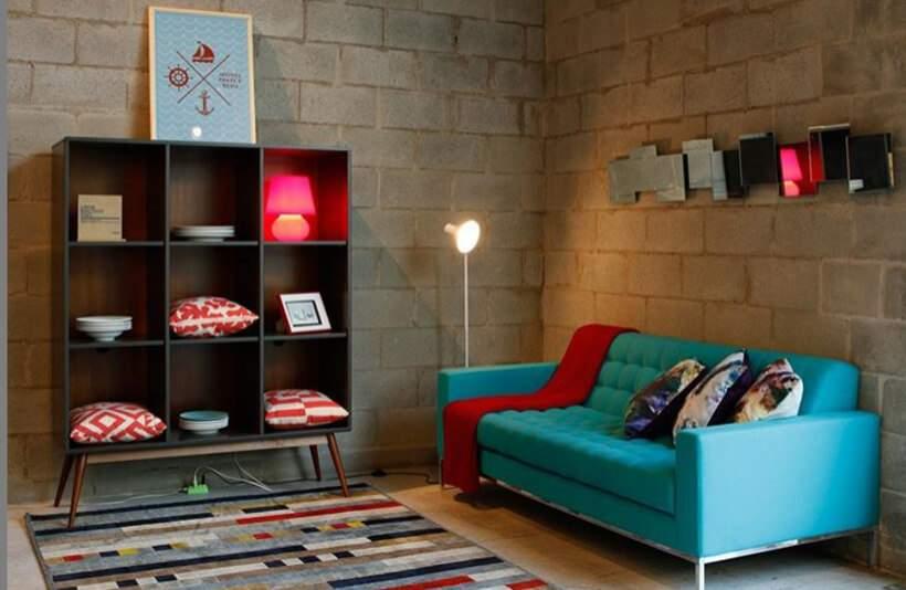 "Sala pequena #5 – Cores vibrantes para o efeito ""uau"""