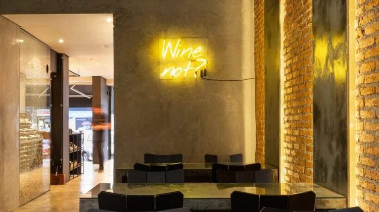 Collab de arquitetura: conheça o wine bar