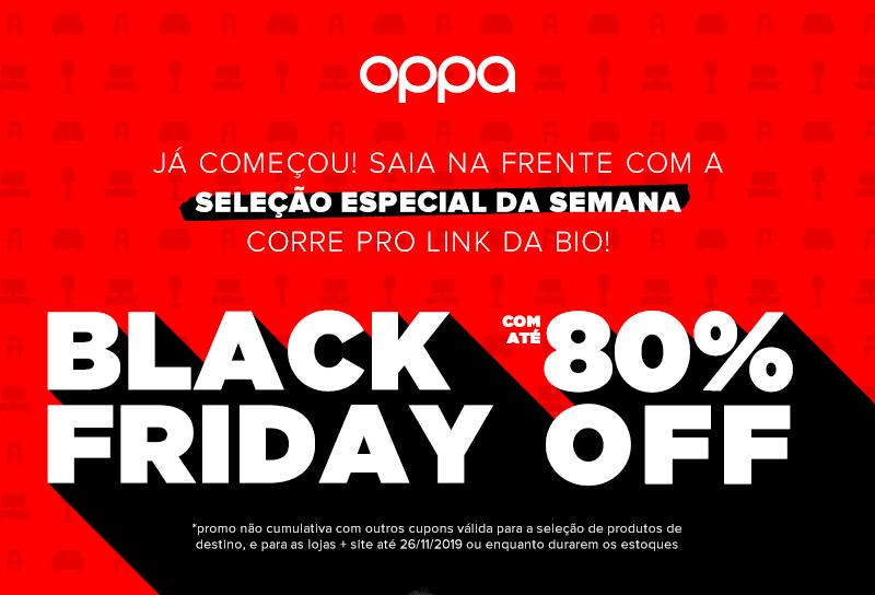Black Friday 2019 da Oppa Design