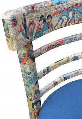 Para quem ama quadrinhos, quer ter eles até na cadeira.