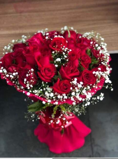 Buquê de flores.