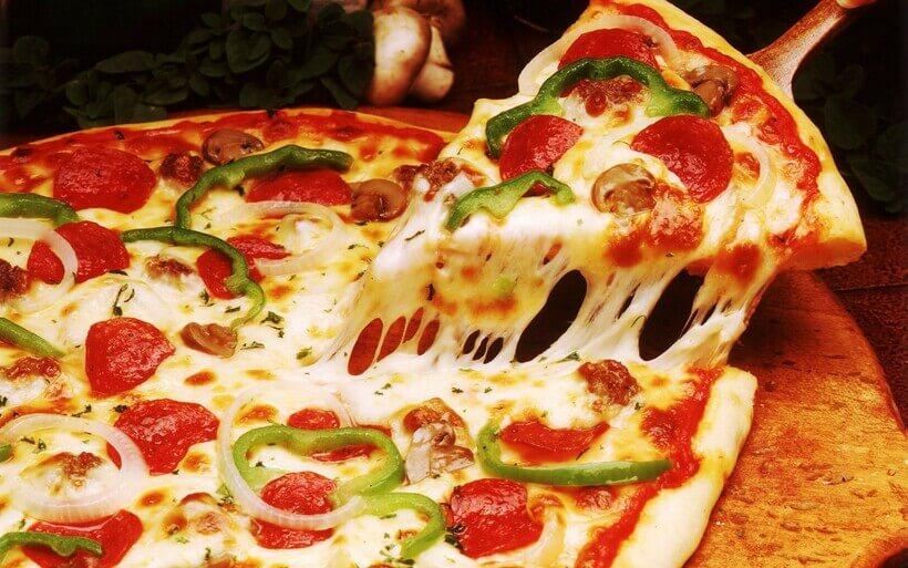 Pizza Marguerita.