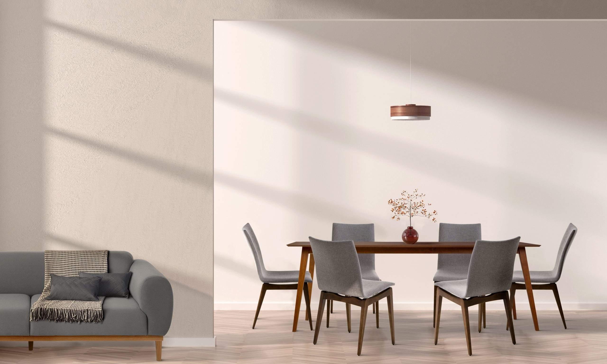 Sala de Jantar estilo contemporêneo.