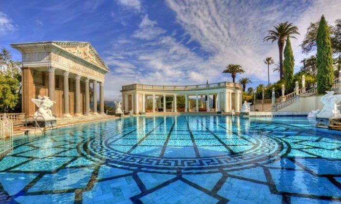 As piscinas mais caras do mundo.