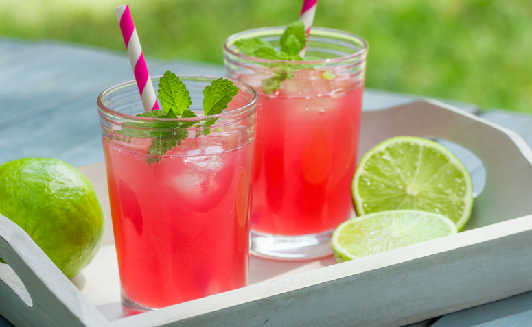 Dia do barman - Pink Lemonade.