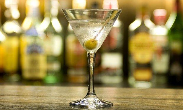 Dia do barman - Dry Martini.